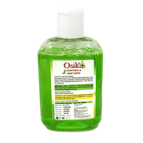 Osik Plus Vegetable and Fruit wash