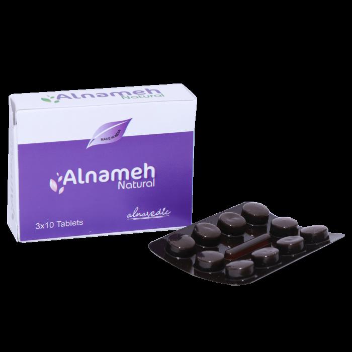 ALNAVEDIC ALNAMEH TABLET FOR AN AYURVEDIC PROPREITARY MEDICINE FOR DIABETICS 30 TABLETS