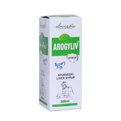ALNAVEDIC AROGYLIV SYRUP FOR LIVER CARE - SUGAR FREE (200ML)