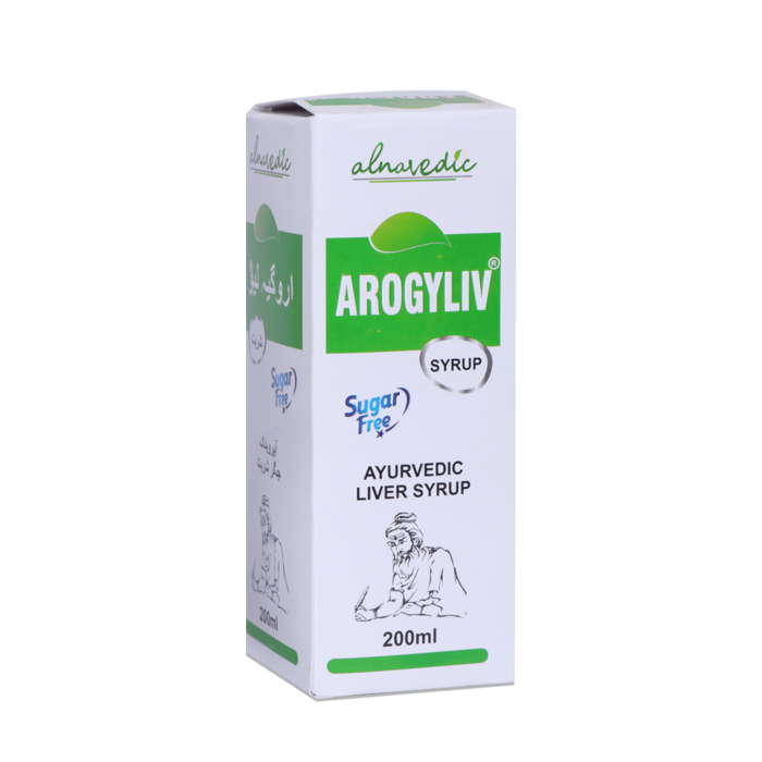 ALNAVEDIC AROGYLIV SYRUP FOR LIVER CARE - SUGAR FREE (200ML)