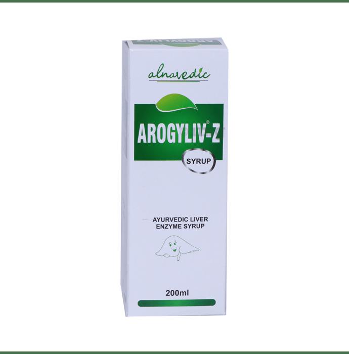 ALNAVEDIC AROGYLIV Z SYRUP FOR LIVER DIGESTIVE & ENZYME AYURVDEIC SYRUP (200Ml)