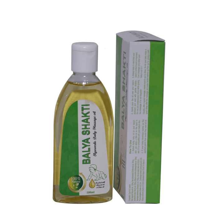 ALNAVEDIC BALYA SHAKTI OIL AYURVEDIC BABY MASSAGE OIL(100ML)