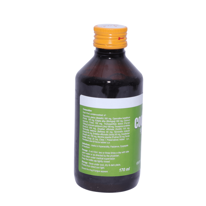 Alnavedic Cool O Fast Syrup