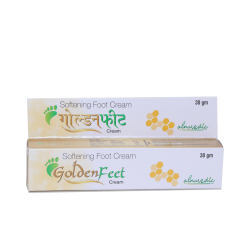 ALNAVEDIC GOLDEN FEET CREAM - SOFTING FOOT CREAM (30GM)