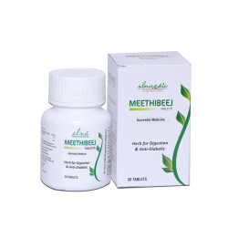 ALNAVEDIC MEETHIBEEJ TABLET FOR DIGESTION & ANTI DIABETIC (30TABLET)