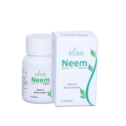 ALNAVEDIC NEEM TABLET NATURAL BLOOD PURIFIER (30 TABLET)