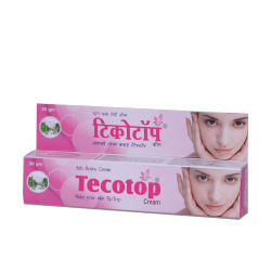 ALNAVEDIC TECOTOP CREAM - ANTI SCAR AYURVEDIC CREAM 30GM