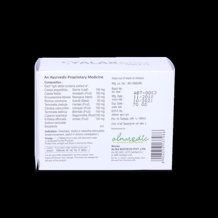 Alnavedic Yalax Natural Tablet