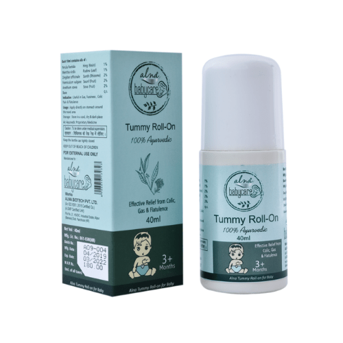 ALNAVEDIC TUMMY ROLL ON FOR COLIC RELIEF AND DIGESTION (40ML)