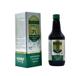 ALNAVEDIC GEOHEP SRYUP 3 IN 1 FOR LIVER DYSFUNCTION AYURVEDIC SRYUP (300ML)