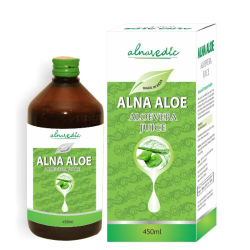 ALNAVEDIC ALNA ALOE VERA JUICE - DETOXIFICATION & REJUVENATING SKIN AND HAIR.